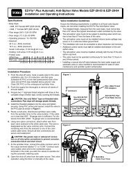EZ Flo Plus Anti-Siphon Installation Guide - Midwest Turf & Irrigation