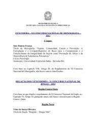 VENCEDORA - XI CONCURSO NACIONAL DE MONOGRAFIA ...