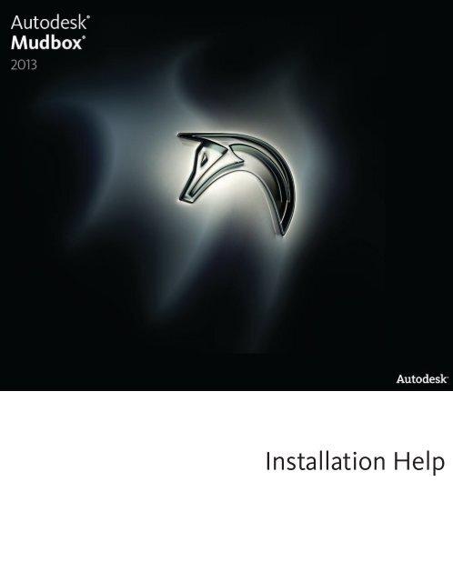 Mudbox Installation Help - Autodesk