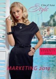 Marketing 2012 (PDF) - VIVENTY Jewels Silberschmuck