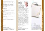 Informationsquellen: Adressen, Bücher, Internet - Klinik für ...