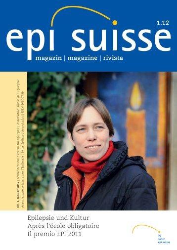magazin | magazine | rivista Epilepsie und Kultur Après l ... - ParEpi