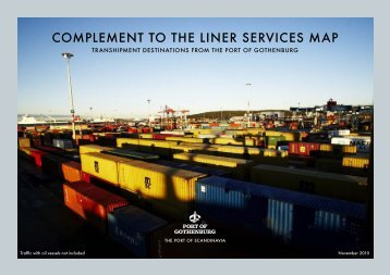 complement to the liner services map - Skandia Container Terminal ...