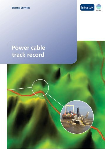 Marine Cables - Metoc