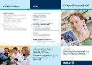 Prächirurgische Diagnostik und Operative Epilepsietherapie