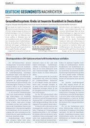PDF ausgabe 2013-40 - DEUTSCHE GESUNDHEITS NACHRICHTEN