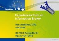H. Nottehed Info24 - Datex II