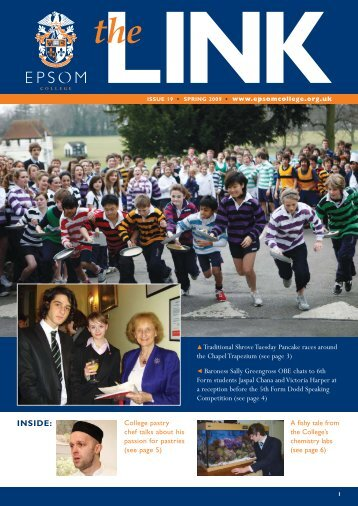 Issue 19 Spring 2009 - Epsom College