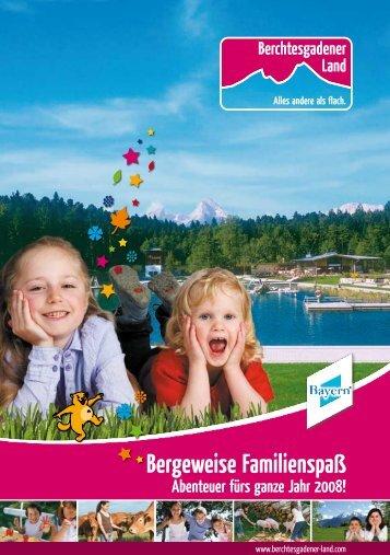 Familienprospekt Berchtesgaden - Freie-texterin.de