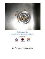 Einführung der gesplitteten Abwassergebühr 34 ... - Gaienhofen