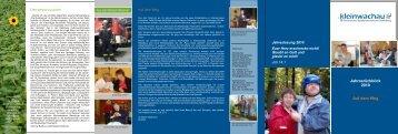 Jahresrückblick 2010 Auf dem Weg Jahreslosung ... - Kleinwachau