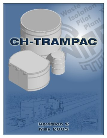 CH-TRAMPAC - Waste Isolation Pilot Plant - U.S. Department of ...
