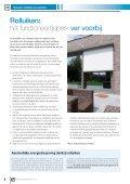Rolluiken en poorten: - Bouwmagazines - Page 6
