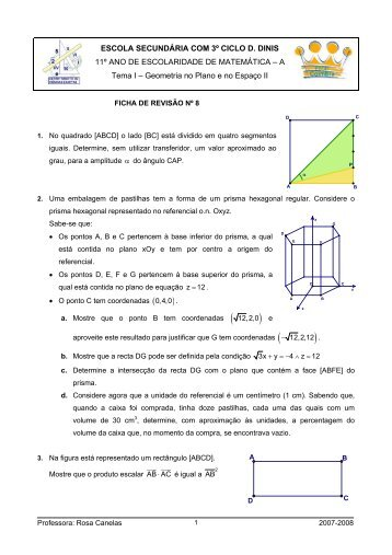 Ficha de revisão nº 8