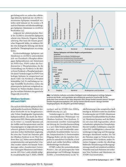 Genetische Ursachen epileptischer Enzephalopathien (Zeitschrift für