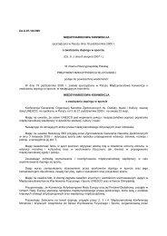 Międzynarodowa Konwencja o Zwalczaniu Dopingu w Sporcie