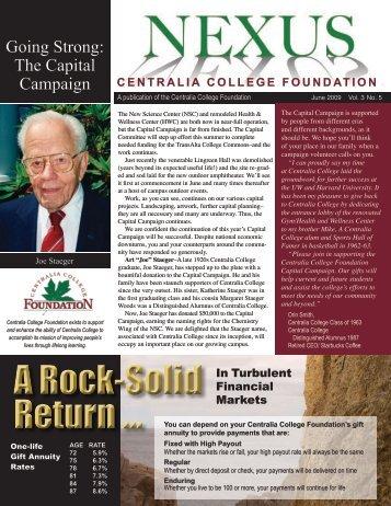 June 2009 - Centralia College Foundation