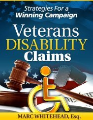 Veterans Disability Claims - Disability Denial Attorneys