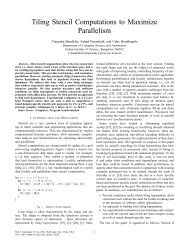 Tiling Stencil Computations to Maximize Parallelism - Computer ...