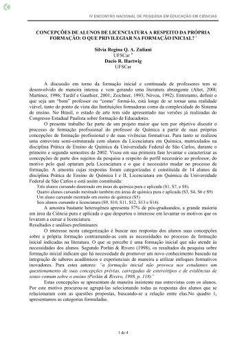 CONCEPÇÕES DE ALUNOS DE ... - Axpfep1.if.usp.br