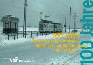 100 Jahre Taunusbahn - VGF