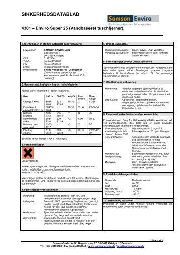 4301 - Enviro Super25Tuschfjerner - Hosting by Talk Active