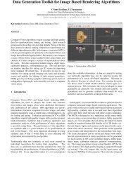 Data Generation Toolkit for Image Based Rendering Algorithms - CVIT