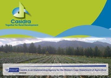 Company Profile 2013 - Casidra