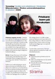Friskare barn på förskolan - Snowfall