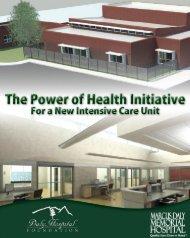 Why a new ICU? - Mdmh.org