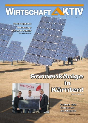 Sonnenkönige in Kärnten! - RfW