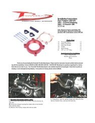 Installation Instructions Part Number 450-636 2011 –14 Ford ... - Airaid