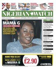 July 2013 Publication - Nigerian Watch