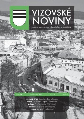 VN 1/2011 - Vizovice