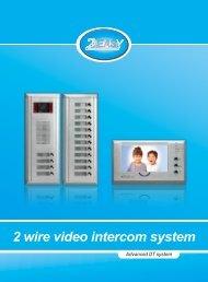 2 wire video intercom system - Schick Handel