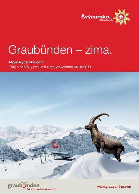 Graubünden – zima.