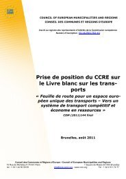 La version pdf complète de la position - Council of European ...
