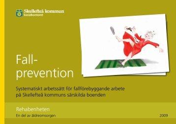 Förebygga fallolyckor - Skellefteå kommun