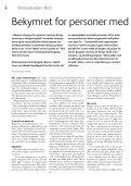 Samfunn for alle nr. 1/2011 - NFU - Page 6