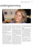 Samfunn for alle nr. 1/2011 - NFU - Page 7