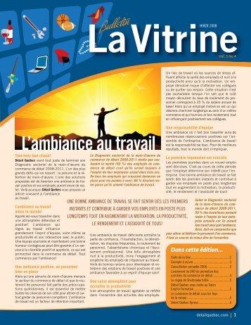 La Vitrine vol. 5, no 4 - Détail Québec