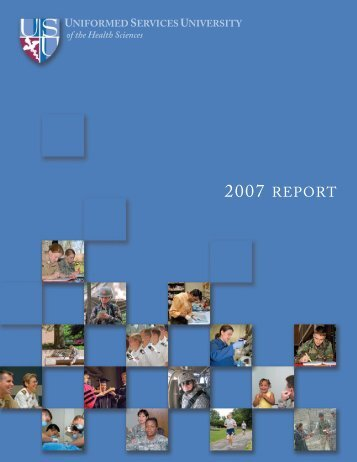 Annual Report - Uniformed Services University of the Health Sciences