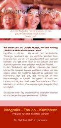 Integralis - Frauen - Konferenz - Fabrica Libri