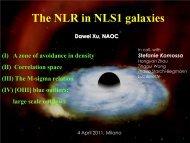 The NLR in NLS1 galaxies - narrow-line seyfert 1 galaxies and their ...