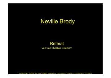 Neville Brody - syntax design