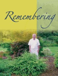 Remembering Chub Harper - Department of Horticulture - Michigan ...