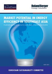 MARKET POTENTIAL IN ENERGY EFFICIENCY IN SOUTHEAST ASIA