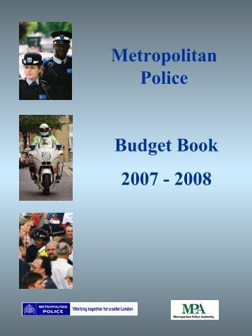 Budget Book 2007-08