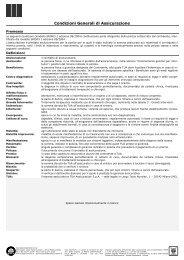 Condizioni Generali di Assicurazione - Tua Assicurazioni