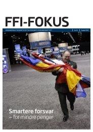 FFI-fokuset - Forsvarets forskningsinstitutt